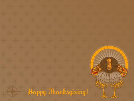 Thanks Giving Hen Wallpaper