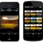 Snapshot photo sharing app